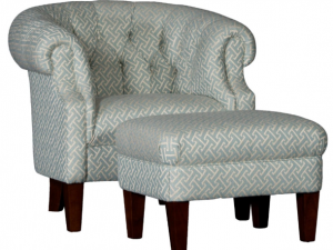 Chair and Ottoman CT-182
