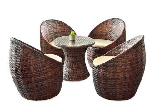 Rattan Coconut chair