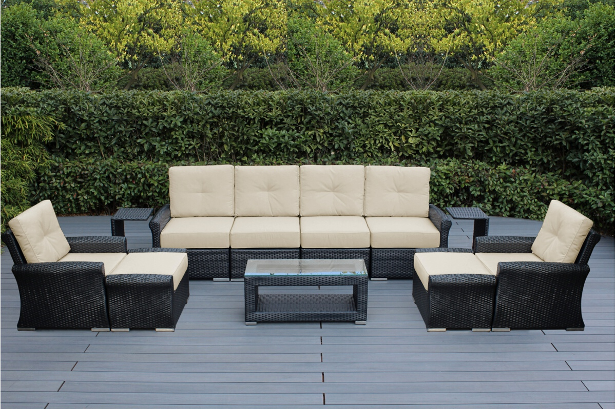 limited-qty-ohana-outdoor-luxury-patio-wicker-furniture-sectional-sofa-11-pc-set-with-sunbrella-cushion