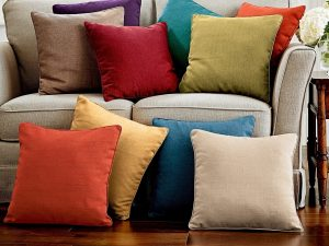 Colourful Textured Cushions
