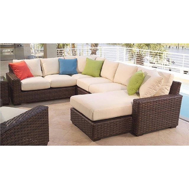 L-Shaped-Rattan-Sofa