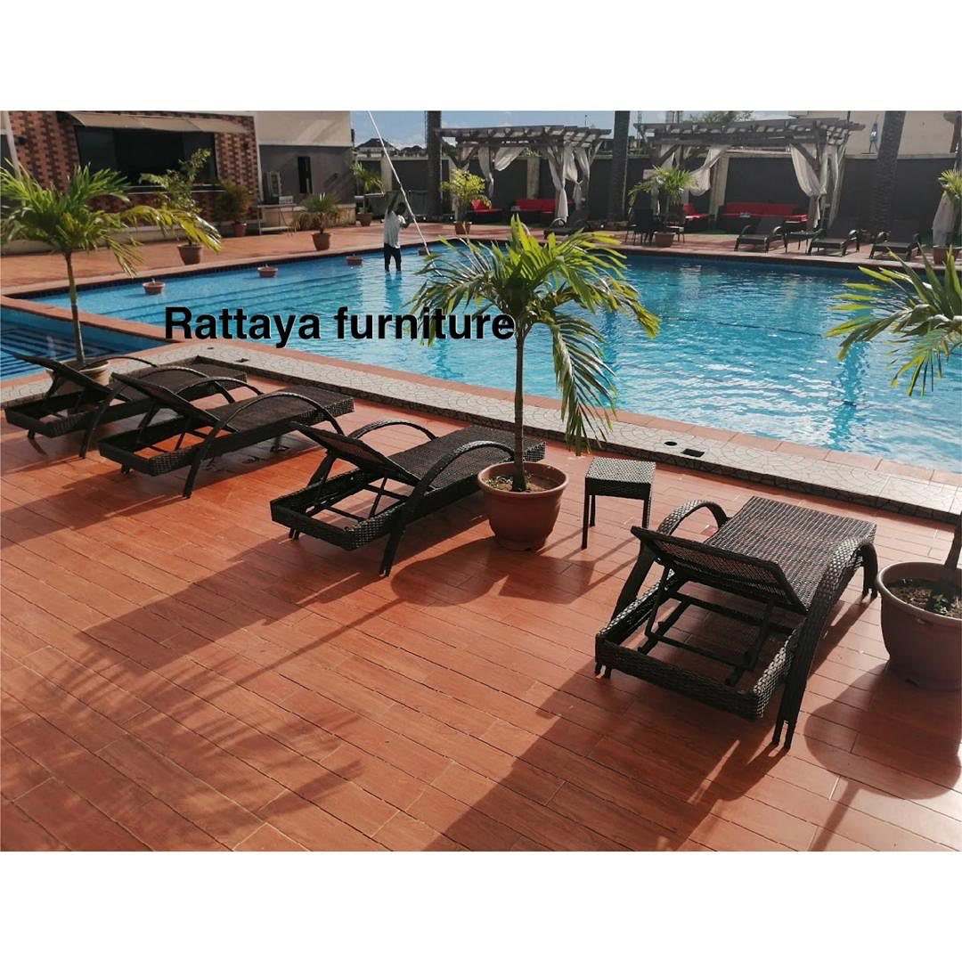 Outdoor Rattan SUN BEDS