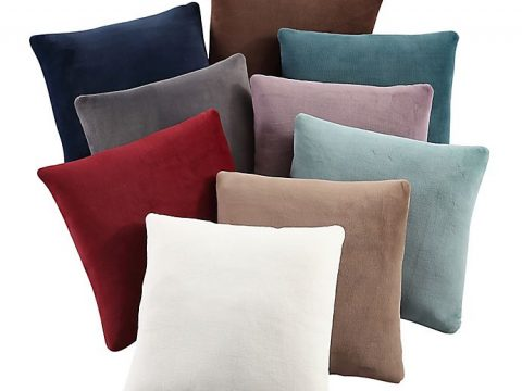 Purely Soft Solid Throw Pillows (Set of 2) | Bed Bath & Bey