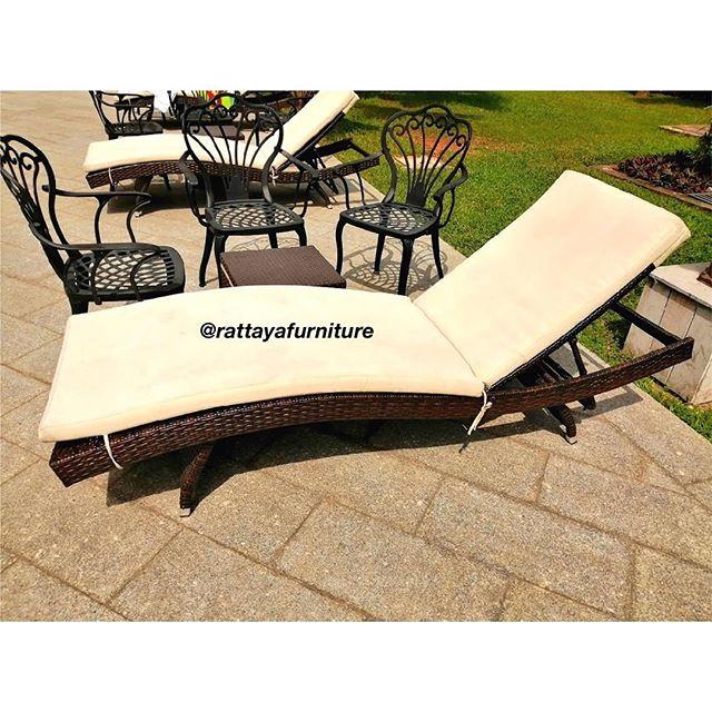 Luxury sun lounger