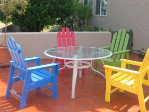 Types of Plastic Furniture