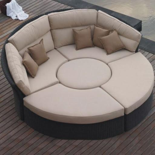 Cheap Patio Cabana Bed