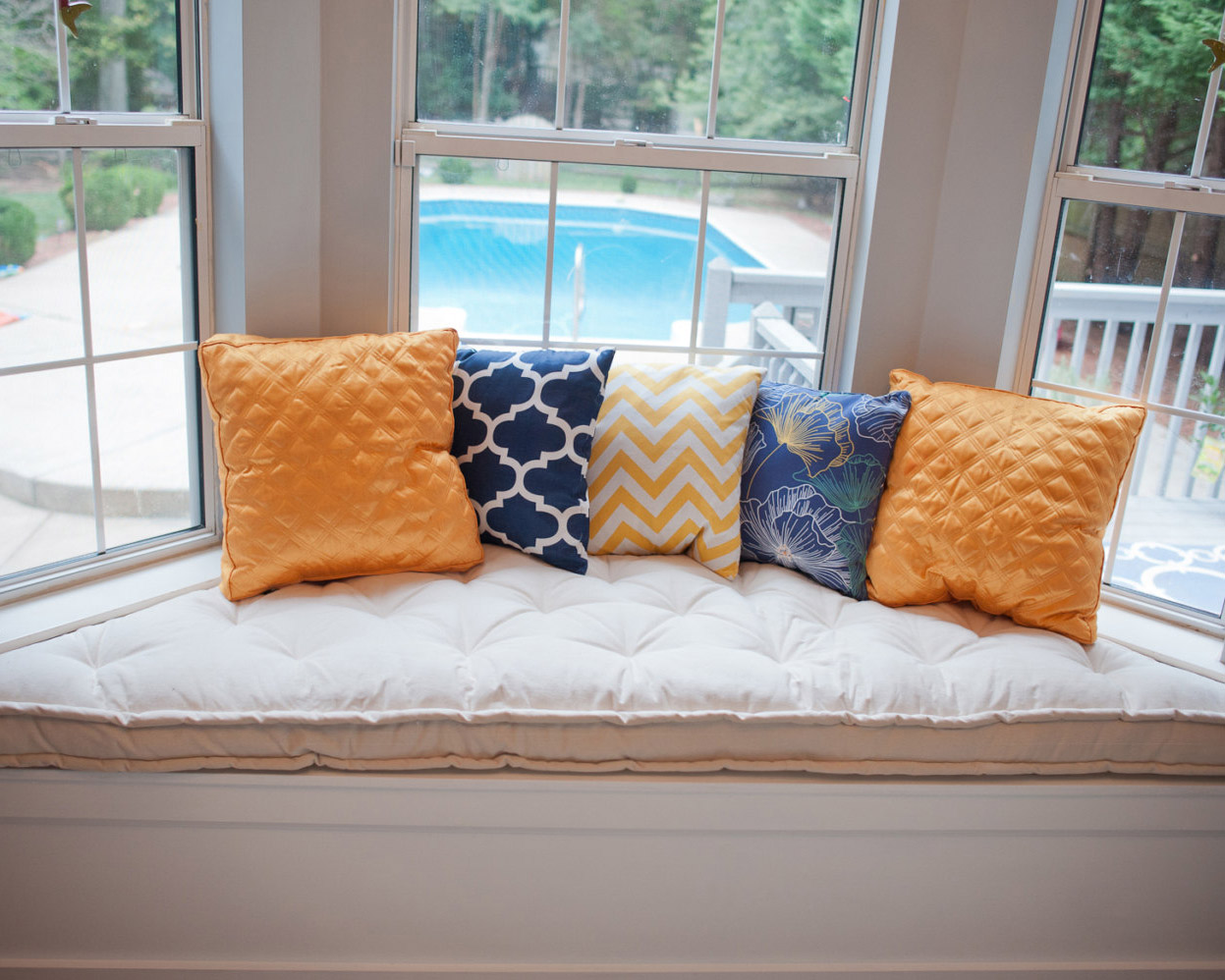 Bay Window Trapezoid Cushion