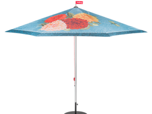Large garden parasols in various designs