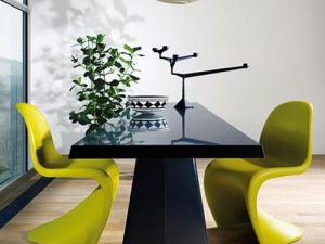 Panton Chairs Blending Exeptional Style into Modern Interior Design