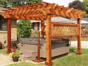 pre engineered pergola kits | Outdoor pergola, Pergola