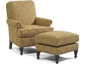 Accents Flemington Chair & Ottoman