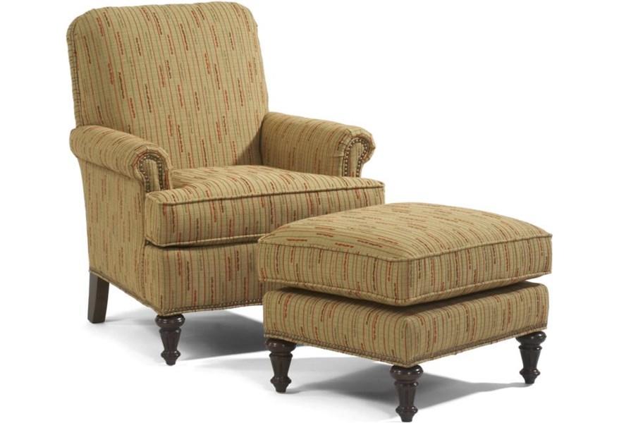 Accents Flemington Chair & Ottoman