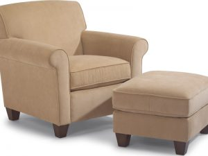Dana Chair and Ottoman