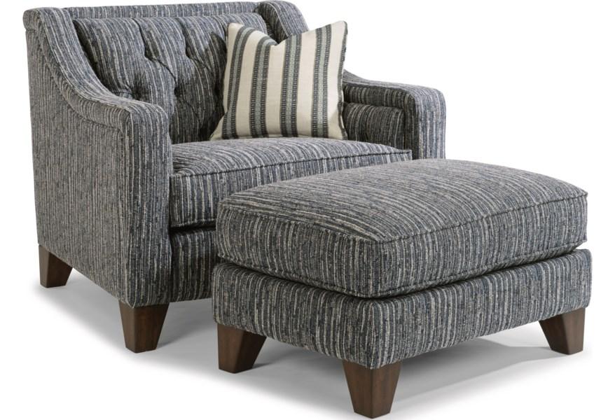 Sullivan Chair and Ottoman Set