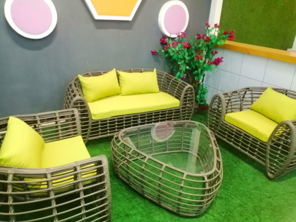 Outdoor Furniture And Outdoor Swimming Pool Is Outdoor Rattan Chairs Lying Bed Sofa Bed Round Bed Cane Club High-Grade B